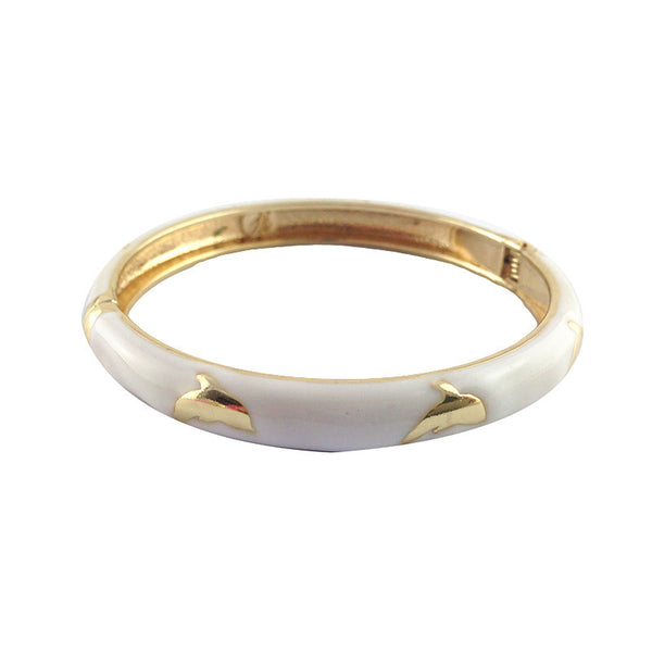 Gorgeous Dolphin Bangle - 7 Colour To Choose From