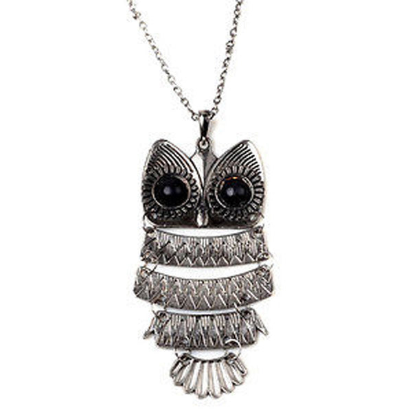 Fashionable New Long Chain Owl Pendant Necklace Necklace Gift For Him/Her