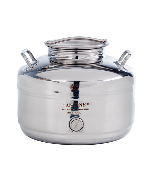 STAINLESS STEEL DRUM 10L