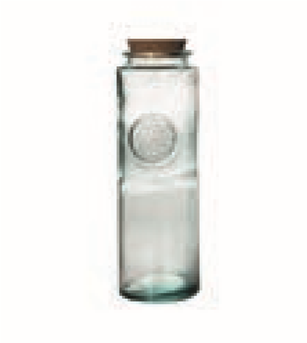 Glass Jar With Cork Cap 1,8L