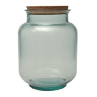 BEVERAGE JAR BOTTLE ECO FRIENDLY BULK STORAGE RETAIL GLASS