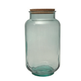 RECYCLED GLASS JAR BOTTLE ECO FRIENDLY BULK STORAGE RETAIL