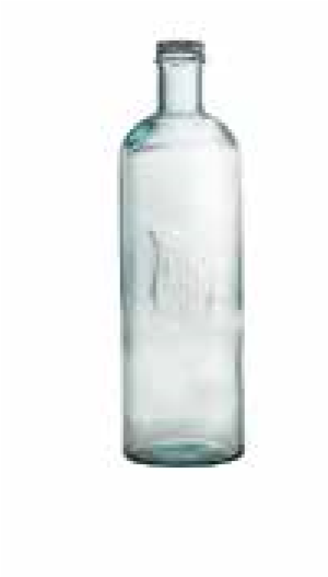 Glass Bottle With Screw Cap 1,6 L
