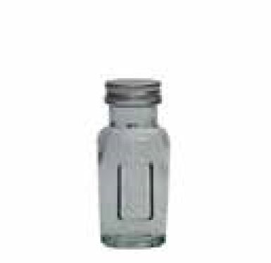 Glass Jar 90 gr With Screw Cap