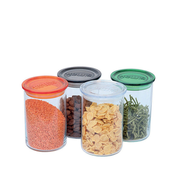 GLASS JAR BOTTLE ORGANIC FOOD BULK STORAGE RETAIL