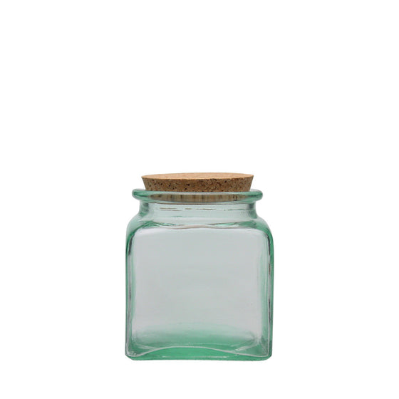 BEVERAGE SQUARE JAR BOTTLE ECO FRIENDLY BULK STORAGE RETAIL