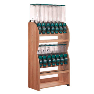ORGANIC BULK STORES FURNITURE SHELVES TRADE FIXTURES RETAIL
