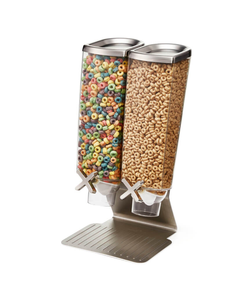 Candy Dispensers 3,8L On stainless steel base stand