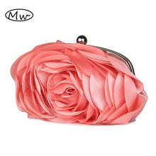 3D Flower Style Handbag - Hourglass Apparel
