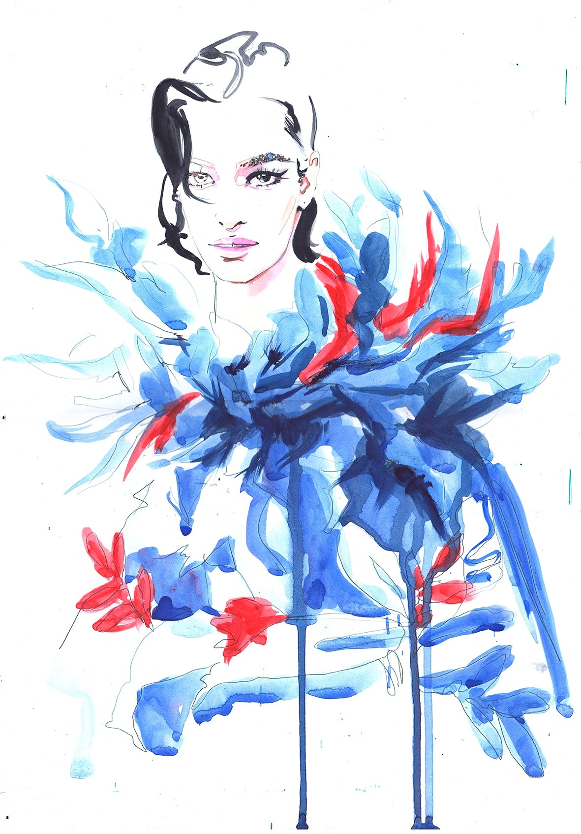 Zhenya Z.  « Featherly Love/ Valentino »