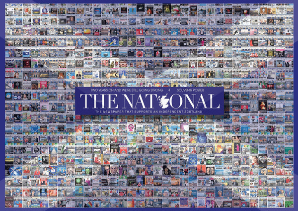 The National's 2nd Anniversary Cover Poster