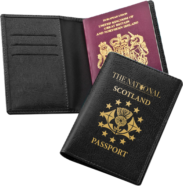 Scottish Passport Cover