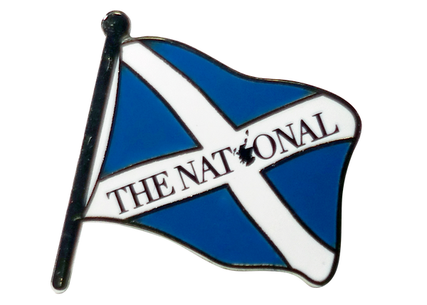 The National Pin Badge