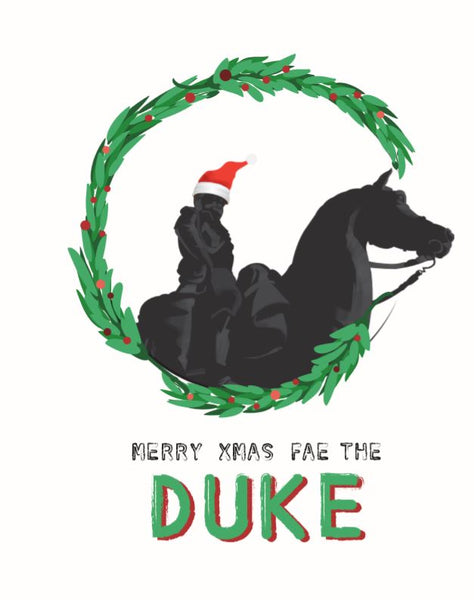 """Duke of Wellington"" Christmas Card"