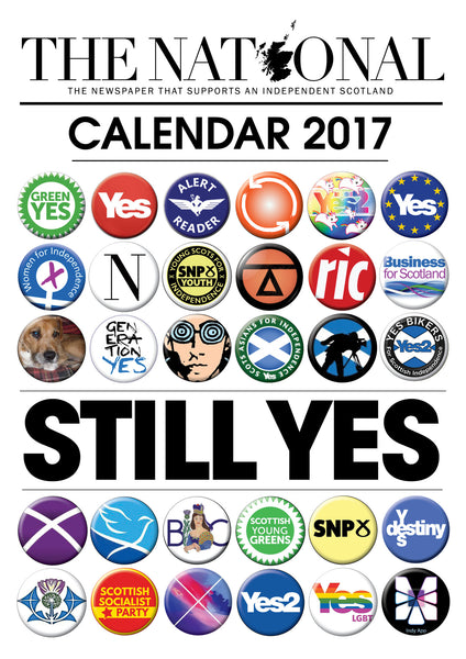 The National 2017 Calendar