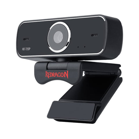 Redragon FOBOS 720p68.6 FOVMount Bracket30 FPS PC Webcam - Black