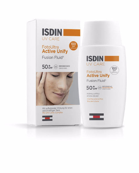 ISDIN UV CARE FotoUltra Active Unify Fusion Fluid 50+SPF (50ml)