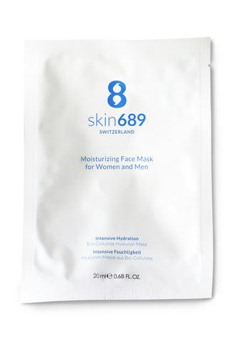 skin689 SWITZERLAND Face Mask for Women and Men 5x20ml