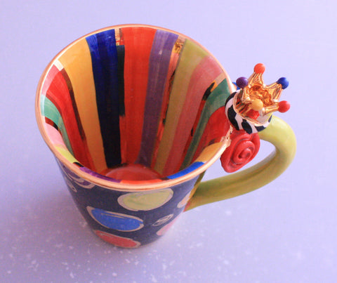 Crown Mug Smartie and Stripes - MaryRoseYoung