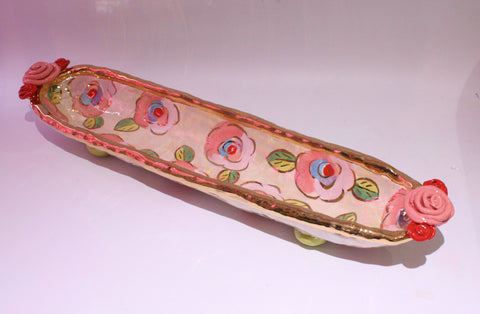 Baguette Tray Pale Rose Pink - MaryRoseYoung