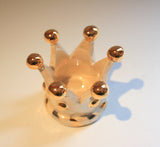 "Crown Candleholder ""Pale"" - MaryRoseYoung"