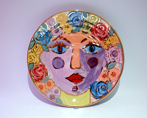 "Face Plate ""Iolanthe"" - MaryRoseYoung"