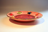 Jewelled Dinner Plate Pink - MaryRoseYoung