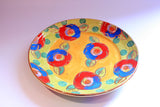 Dinner Plate Roses Yellow with Dotty Green - MaryRoseYoung