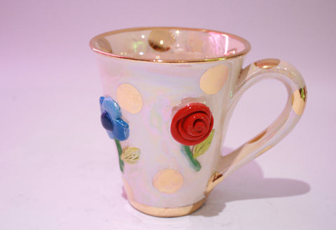 Pressed Flower Mug - MaryRoseYoung