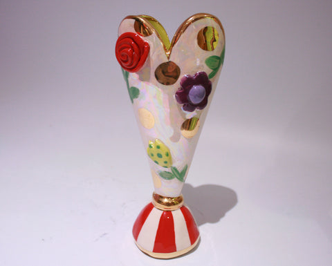 Pressed Flower Tiny vase - MaryRoseYoung