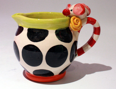 """Alice in Wonderland"" Mouse Pitcher"