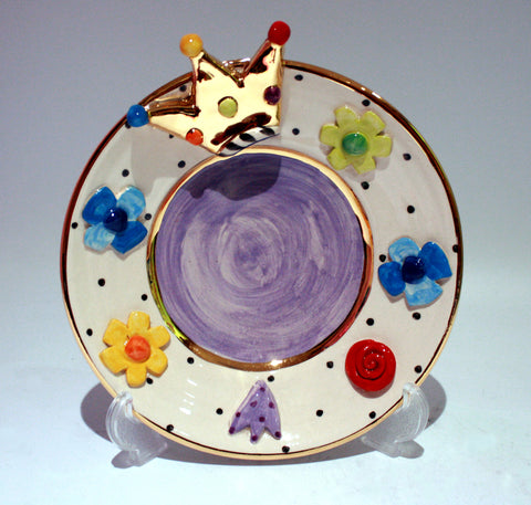 Crown Jewel Cake Plate - MaryRoseYoung