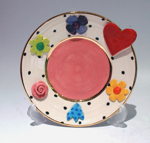 Queen of Hearts Cake Plate - MaryRoseYoung