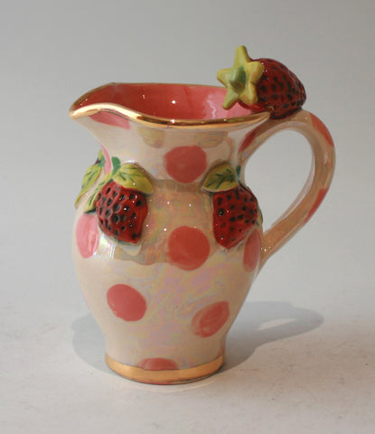 Creamer Jug in Strawberry - MaryRoseYoung