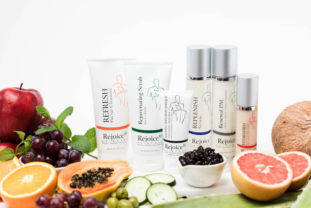 Rejoice Skincare line for all skin types