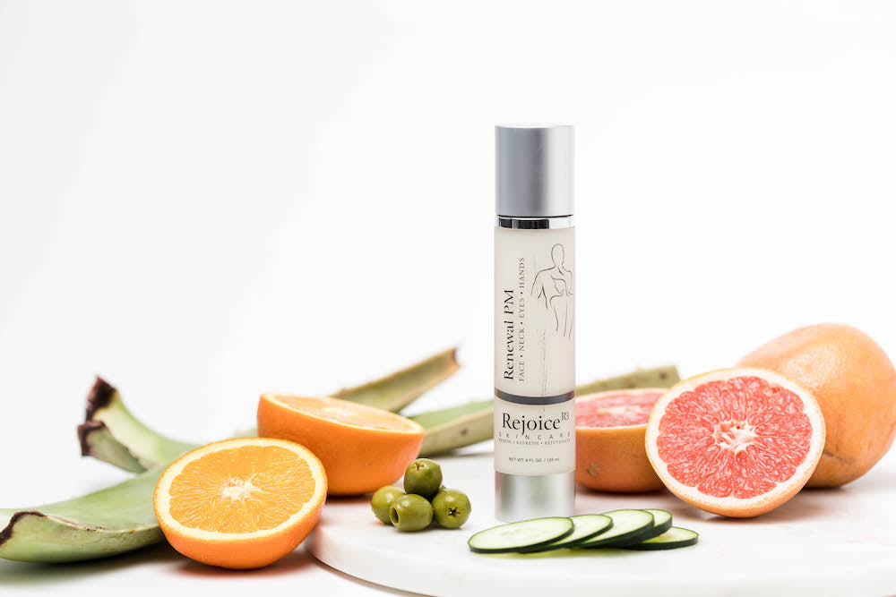 RENEWAL PM skin lighteners to brighten skin and reduce sun damage and age spots
