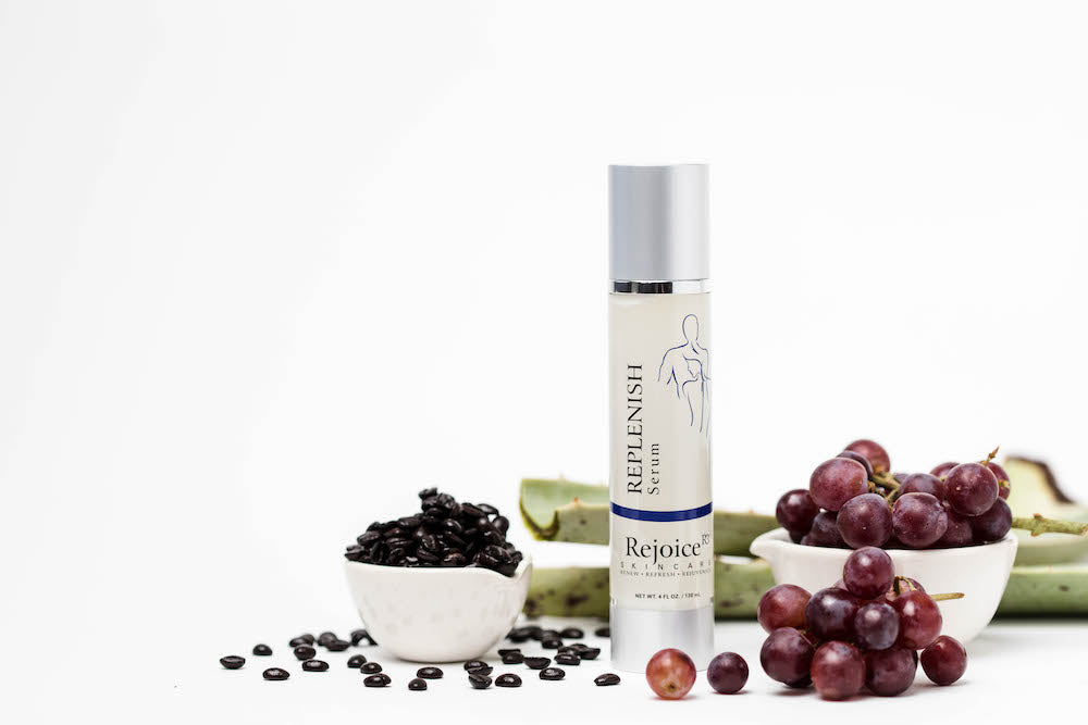 REPLENISH SERUM Retains moisture. Antibacterial and anti-inflammatory