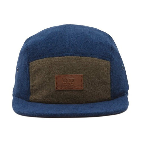 Vans Mansfield Camper Hat/ Dress Blues- Grape Leaf