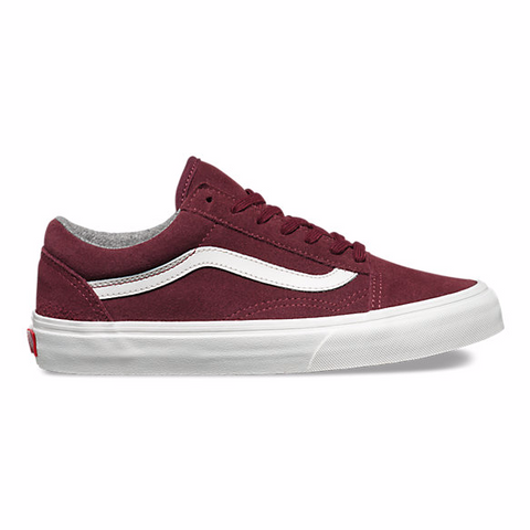 Vans Varsity Suede Old Skool Red Mahogany