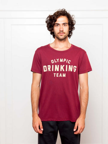 Thinking MU Olympic Drinking Team T-Shirt - Giraffe Leuven
