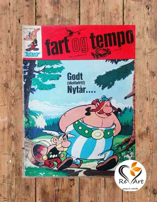 Fart og Tempo | Asterix | Nr. 1. - 6. jan. 1972