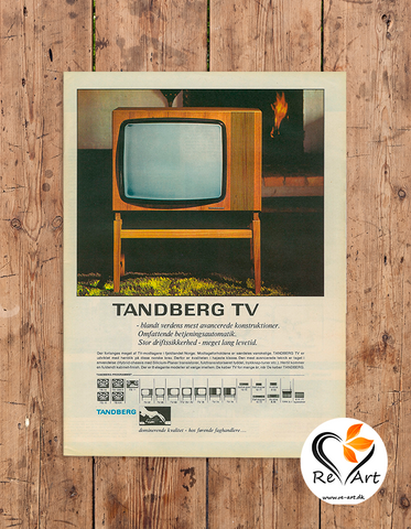 Tandberg TV - re-art