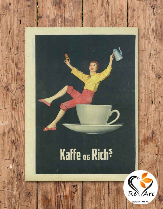 Kaffe og Rich's - re-art