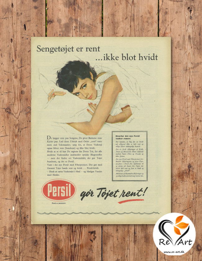 Gör Töjet rent! (Persil) - re-art