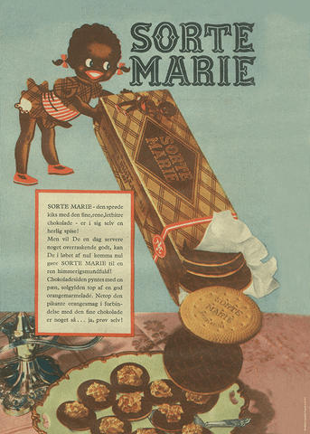 Sorte Marie - Mariekiks - re-art