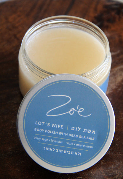 LOT'S WIFE<br>dead sea salt scrub