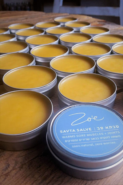 SAVTA SALVE <br/> sore muscles + joints
