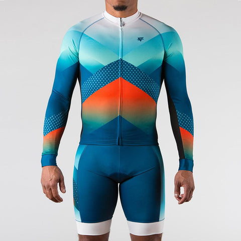 Momentum Cycling Long Sleeve Jersey - ENTRIX