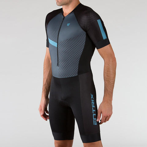 Venture Triathlon Suit - Elbow Sleeve Niagara - ENTRIX