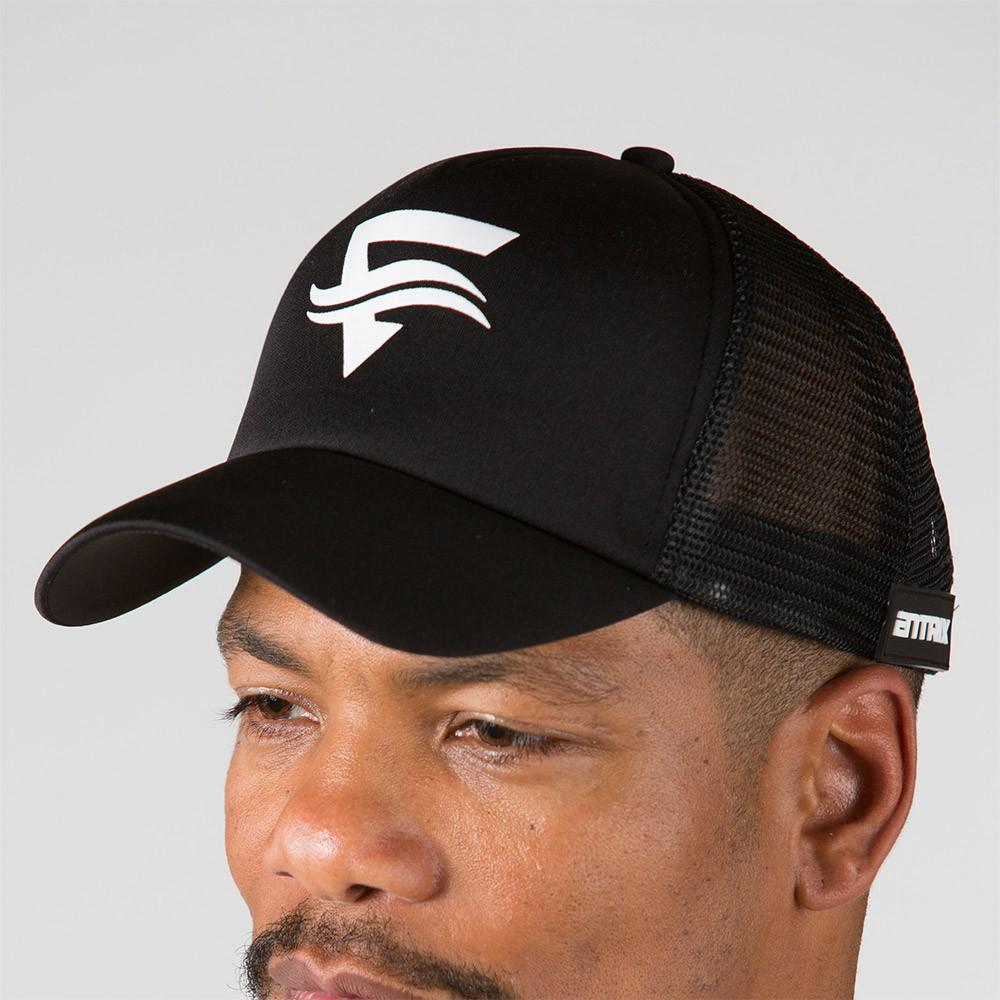 Icon Trucker Cap - Black - ENTRIX